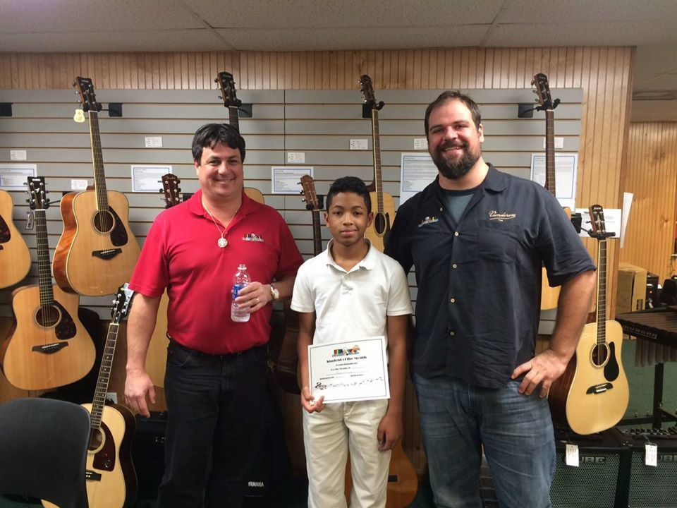 Guitar Student of the Month