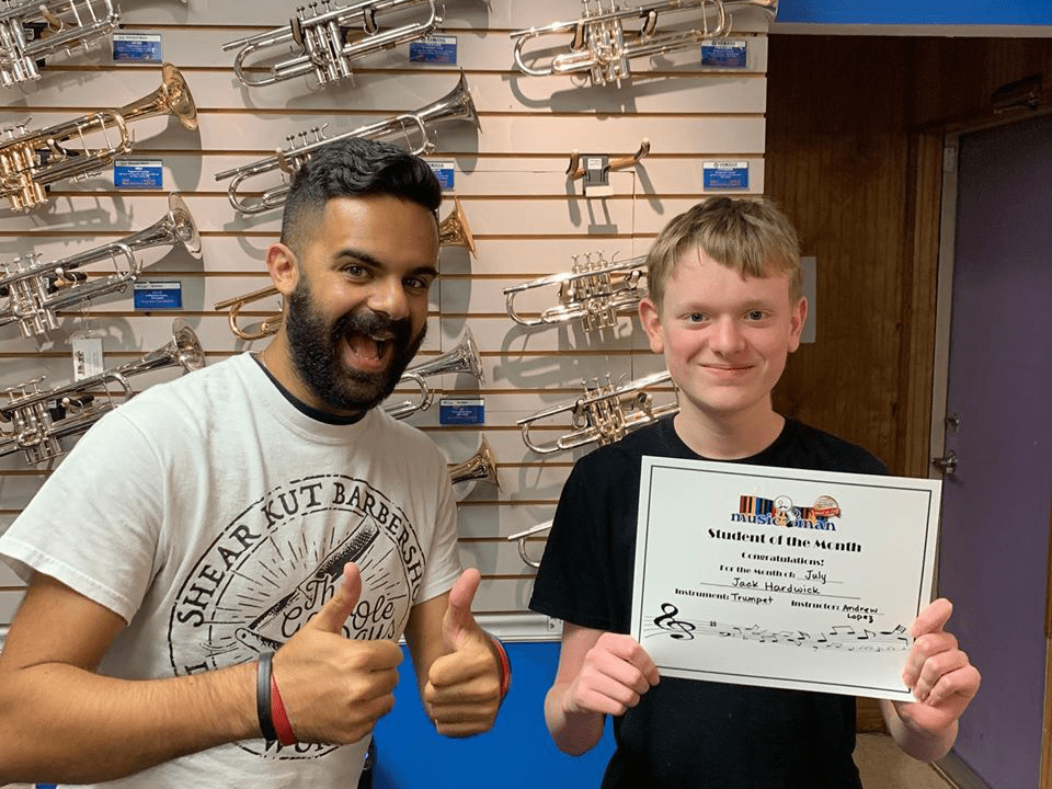 Trumpet Student of the Month