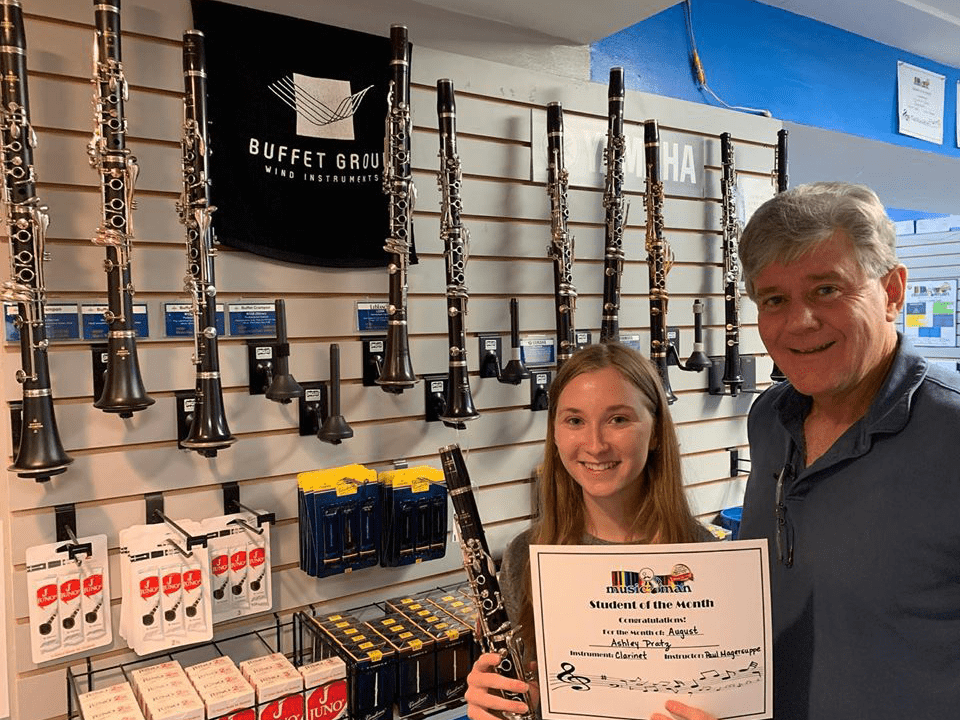 Clarinet Student of The Month